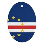 Flag_Cape Verde Ornament (Oval)