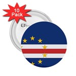 Flag_Cape Verde 2.25  Button (10 pack)