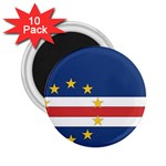 Flag_Cape Verde 2.25  Magnet (10 pack)