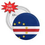 Flag_Cape Verde 2.25  Button (100 pack)