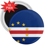 Flag_Cape Verde 3  Magnet (10 pack)