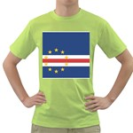Flag_Cape Verde Green T-Shirt