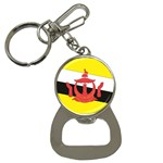 Flag_Brunei Bottle Opener Key Chain