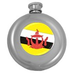 Flag_Brunei Hip Flask (5 oz)