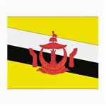 Flag_Brunei Glasses Cloth (Small, Two Sides)