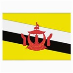 Flag_Brunei Glasses Cloth (Large, Two Sides)