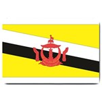 Flag_Brunei Large Doormat
