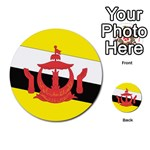 Flag_Brunei Multi-purpose Cards (Round)