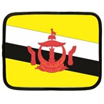 Flag_Brunei Netbook Case (Large)