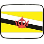 Flag_Brunei Mini Fleece Blanket(Two Sides)