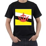 Flag_Brunei Black T-Shirt