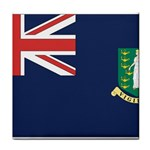 Flag_Brit Virgin Islands Tile Coaster
