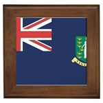 Flag_Brit Virgin Islands Framed Tile
