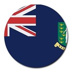 Flag_Brit Virgin Islands Round Mousepad