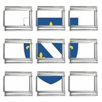 Flag_Bosnia-Herzegovina 9mm Italian Charm (9 pack)