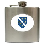 Flag_Bosnia-Herzegovina Hip Flask (6 oz)