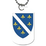 Flag_Bosnia-Herzegovina Dog Tag (Two Sides)