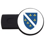 Flag_Bosnia-Herzegovina USB Flash Drive Round (1 GB)