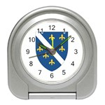 Flag_Bosnia-Herzegovina Travel Alarm Clock