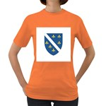 Flag_Bosnia-Herzegovina Women s Dark T-Shirt