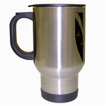 Flag_Bosnia-Herzegovina Travel Mug (Silver Gray)