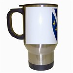 Flag_Bosnia-Herzegovina Travel Mug (White)