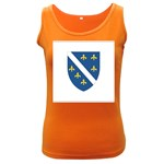 Flag_Bosnia-Herzegovina Women s Dark Tank Top