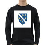 Flag_Bosnia-Herzegovina Long Sleeve Dark T-Shirt