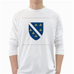 Flag_Bosnia-Herzegovina Long Sleeve T-Shirt