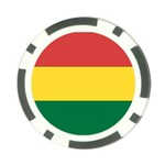 Flag_Bolivia Poker Chip Card Guard (10 pack)