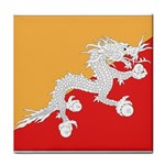 Flag_Bhutan Tile Coaster