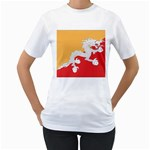 Flag_Bhutan Women s T-Shirt