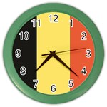 Flag_Belgium Color Wall Clock