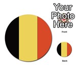Flag_Belgium Multi-purpose Cards (Round)