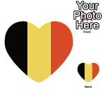 Flag_Belgium Multi-purpose Cards (Heart)