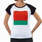 Flag_Belarus Women s Cap Sleeve T