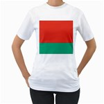 Flag_Belarus Women s T-Shirt