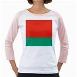 Flag_Belarus Girly Raglan