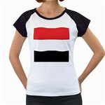 Flag_Yemen Women s Cap Sleeve T