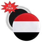 Flag_Yemen 2.25  Magnet (10 pack)