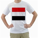 Flag_Yemen White T-Shirt