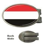 Flag_Yemen Money Clip (Oval)