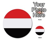 Flag_Yemen Multi-purpose Cards (Round)