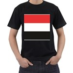 Flag_Yemen Black T-Shirt