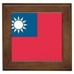 Flag_Taiwan Framed Tile