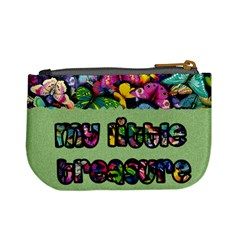 My Little Treasure (green)   Mini Coin Purse By Carmensita   Mini Coin Purse   Vo02kgjm44tc   Www Artscow Com Back