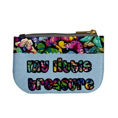 My Little Treasure (blue)   Mini Coin Purse By Carmensita   Mini Coin Purse   Tyr6sudjzrv4   Www Artscow Com Back