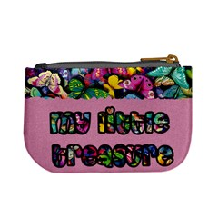 My Little Treasure (pink)   Mini Coin Purse By Carmensita   Mini Coin Purse   K74bfucuw6uu   Www Artscow Com Back