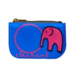 Elephant & Pig - mini coin purse