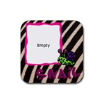 SNAIL - Ruber coaster - Rubber Coaster (Square)